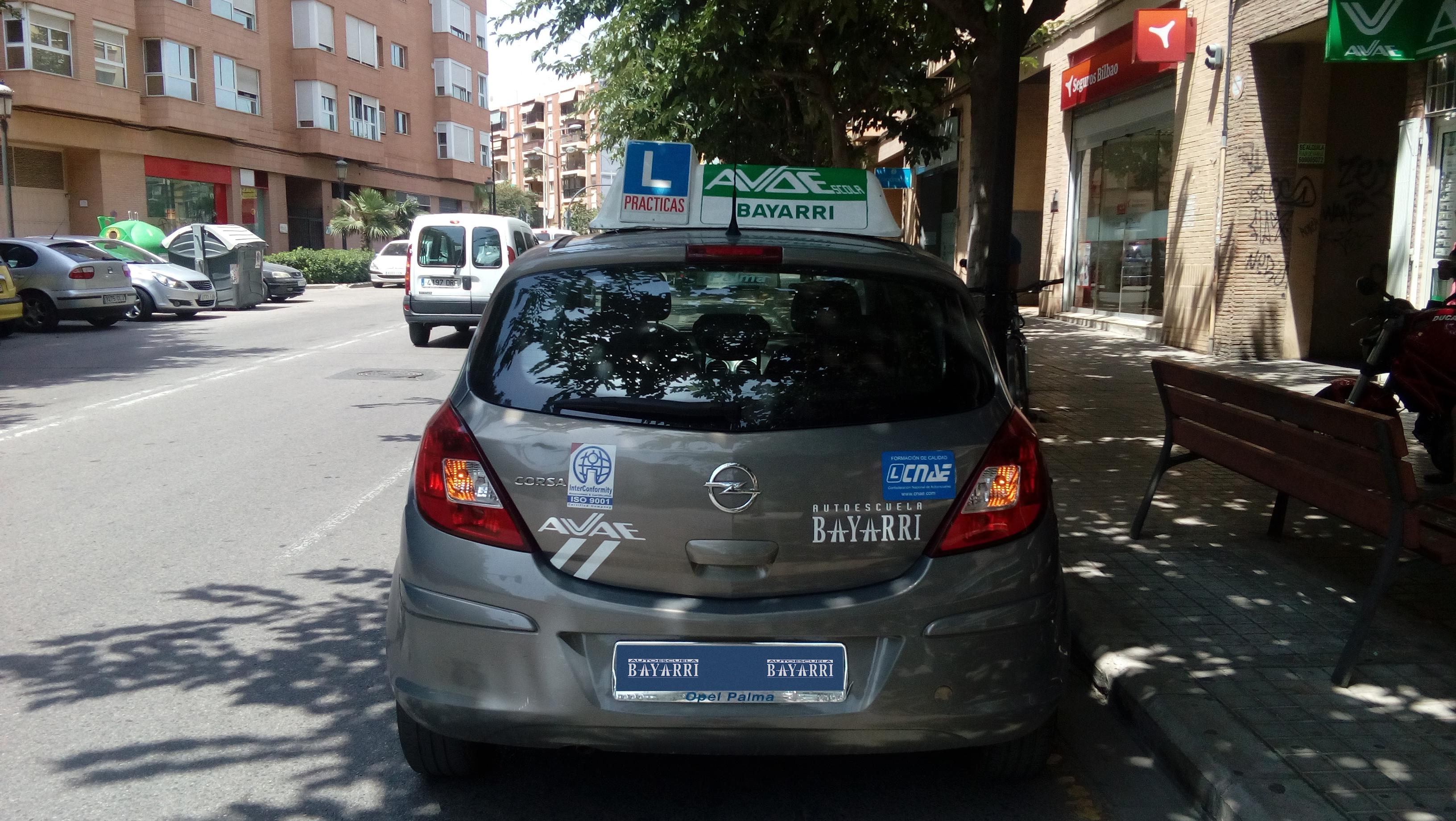 coche 1 trasera